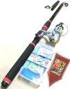 釣り竿/サビキ/サビキセットプロマリンわくわくサビキ釣りセットDX300cm(エサセット)売れ筋