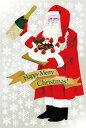 6893 巨大ウィンドウシール Window Seal Happy Merry Christmas! 再剥離可能 両面印刷 透明シール 素材:ゲルポリ サイズ:W1100mm×H1600mm ※お取寄商品