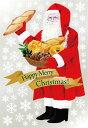6894 巨大ウィンドウシール Window Seal Happy Merry Christmas! 再剥離可能 両面印刷 透明シール 素材:ゲルポリ サイズ:W1100mm×H1600mm ※お取寄商品