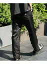 [Rakuten Fashion]【SALE/50%OFF】《WEB限定》GUNGHO別注シェフパンツ(セットアップ対応) nano・universe ナノユニバース パンツ/ジーンズ フルレングス ブラック ベージュ【RBA_E】