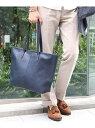 nano・universe Bright Leather Tote Bag ナノユニバース【送料無料】