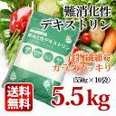 お徳用 水溶性 食物繊維 5kg500g(550g×10) 難消化性デキストリン 粉末 とうもろこし由来 チャック付袋 ダイエットサプリ 健康食品 サプリ【送料無料】