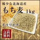 【H29年11月産新麦!】国産 もち麦 1kg 希少な北海道...