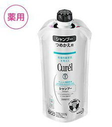 <strong>キュレル</strong> <strong>シャンプー</strong> つめかえ用 340ml