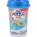 明治メイバランスMiniカップ 白桃ヨーグルト味 125mL