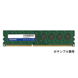 ADATA Technology ADDE1600W4G11-SZZ DDR3 Unbuffered DIMM 1.35V ECC(1600)-4G/512x8大致目標庫存=△[對象商品]