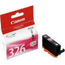 純正品 Canon キャノン BCI-326M インクタンク マゼンタ (4537B001) 目安在庫=○[メール便対象商品]
