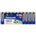 パナソニック エボルタ乾電池 単3形20本パック LR6EJ/20SW 目安在庫=○