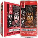 シャイニー 青森の味!アップルジュース (新)赤のねぶた缶 190g缶×30缶入 2箱(4970180801840*2)