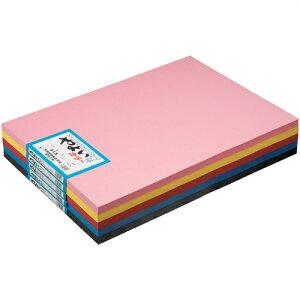 《北越製紙》 やよいカラー 4ツ切 10枚 112 ピンク ヤヨイカラーR 4ツキリ10マイピンク