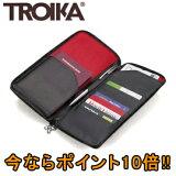 ■ポイント10倍■トロイカ(TROIKA) ファスナー付トラベルケース レッドペッパー TR-TRV62/LE