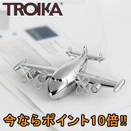 ■ポイント10倍■トロイカ(TROIKA) ペーパーウエイト&クリップホルダー スーパーコニー TR-GAM19/CH