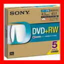SONY DVD+RW 4.7GB 5DPW47HPS 5枚
