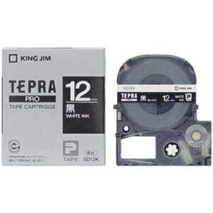 キングジム テプラPRO テープカートリッジ SD12K