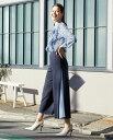 ブラック 黒 ネイビー 紺 フォーマル ビジネス オフィス OL 上品 デイリー 通勤 レディース ボトム 入学式 入園式 卒業式 卒園式 ママ 母 40代 大きいサイズ スーツ 服装 おしゃれNARACAMICIE  ナラカミーチェ公式通販