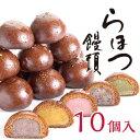 【奈良祥樂 らほつ饅頭10個 選べるかりんとう饅頭の詰め合わ...