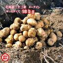 オープン記念!30セット限定!北海道産/ジャガイモ/メークイン/M,L混み/10kg【送料無料※九州・沖縄を除く】