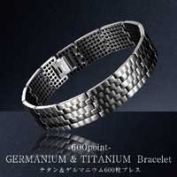 Made of pure titanium! Germanium used 600 stone! Germanium bracelet BFI-231