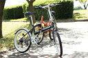 ショッピング折りたたみ自転車 【送料無料】FIELD CHAMP FDB20 6S 20インチ折り畳み自転車 6段ギア