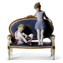 LLADRO リヤドロ 稽古の時間 8570 限定3000体 陶器人形 置物 バレエ バレリーナ 少女