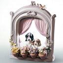 LLADRO リヤドロ 可愛いながめ 6502 陶器人形 置物 犬
