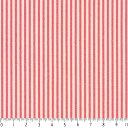 ストライプ 1.5ミリ 4958-56 コーラルピンク ピンストライプ 生地 ピンク かわいい 女の子 10cm単位 やや厚手 生成りオックス生地 綿10..