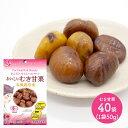 テンダイ 食べ切り サイズ 小袋 おいしい むき 甘栗 (有機栽培栗) 50g× 20袋 2ケース(