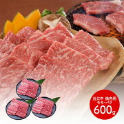 【送料無料】 近江牛 焼肉 モモ・バラ600g SK612 お取り寄せ 特産 手土産 お祝い 御中元 詰め合せ おすすめ 贈答品