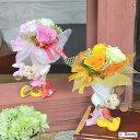 プリザーブドフラワーディズニーキャラクターミッキー&ミニーアレンジ花束贈ります!誕生祝い、母の日、父の日、敬老の日、結婚祝い