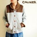 caliner(カリネ)8,532⇒5,972(30%OFF)裏毛・裏起毛ジャケットジャケット モコモコ エスニック レディース カジュアル 送料無料