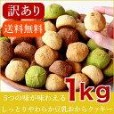 【エントリーで全品ポイント5倍】 【訳あり】豆乳おからクッキー ソフト 1kg (250g×4袋) メール便A