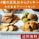 4種の豆乳おからクッキー わがままアソートセット(合計950g)【着後レビューで1000円OFFクーポン発行中】 メール便A