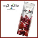 I do not include mySmoothie (my smoothie) pomegranate (pomegranate ) sugar, fragrance, an additive, a preservative at all [free shipping for 5,250 yen]! I do not touch the fresh air at all in process of manufacture either. De-PET bottle syndrome! [_ Kanto tomorrow for comfort]