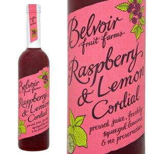 Belvoir Fruit Farms ビーバーフルーツファーム 有機JAS認証 オーガニック ハーブコーディアル ラズベリー&レモン 500ml 宅配便B