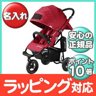 空氣的傢伙正常店空氣的傢伙可哥標準 AirBuggy 可哥標準 BK (安全氣囊巧克力標準) 櫻桃紅童車 / 車 / 三輪嬰兒推車嬰兒推車 / 類型