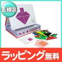 InaKids (イナキッズ) マグネットセット タングラム 知育玩具/ポータブル【ナチュラルリビング】