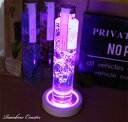 7色 LED レインボーコースター 虹 レインボー ライトアップ コースター プレゼント 誕生日 ギフト Herbarium