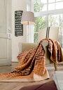 送料無料・数量限定・直輸入・軽量毛布ドイツ・IBENAブランケットシリーズSolare Art.2057綿混毛布:綿60%アクリル40%シングルサイズ:商品重量1,420g【RCP】