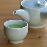 【白山陶器】【波浪佐见烧】【茶和】【煎茶】【青白釉子】[【白山陶器】【波佐見焼】【茶和】【煎茶】【青白釉】]