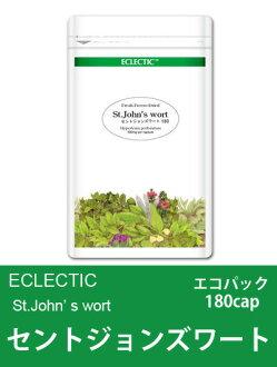 When ECLECTIC St John's wort (Hypericum perforatum) FFD a capsule-type Eco Pack 180 cap smtg0401