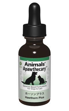 アニマルズアパスキャリー (Animals' apawthecary) ホーソンプラス29.5ml 【ペット用ハーブサプリ・循環器系のサポートに】