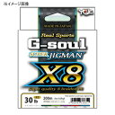 YGKдшд─двд▀ еъевеые╣е▌б╝е─ G-soul е╣б╝е╤б╝е╕е░е▐еє X8 300m 0.6╣ц/14lb