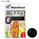 ハヤブサ(Hayabusa) 小鮎仕掛 ファイバー&ラメ留 7本鈎 鈎2/ハリス0.4 白×金 C317