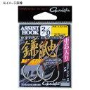 がまかつ(Gamakatsu) バラ アシスト 鎌鼬ショート GA010 2/0 シルバー 68324