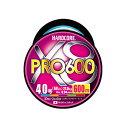 е╟ехеиеы(DUEL) HARDCORE X8 PRO(е╧б╝е╔е│ев X8е╫еэ) 600m 4.0╣ц 5┐зе▐б╝енеєе░ H3959