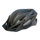 プロウェル(PROWELL) スポーツヘルメット F−44R Raden M Lightning3MattBlack 73005