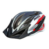 プロウェル(PROWELL) スポーツヘルメット F−44R Raden M Neo Blade Red×Black 73017