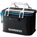 シマノ(SHIMANO) BK-011L バッカンEV 36cm ブラック×ブルー 42502