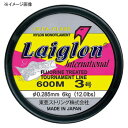 RAIGLON(レグロン) レグロンインターナショナル 600m 2.5号/10lb ミストグリーン