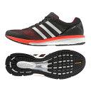 adidas(アディダス) サブ5 ADIZERO BOSTON BOOST(アディゼロ ボストン ブースト)ワイド Men's 26.0cm B33482(ホワイト×ブラック×イエロー)